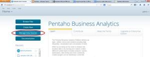 Pentaho Home Page