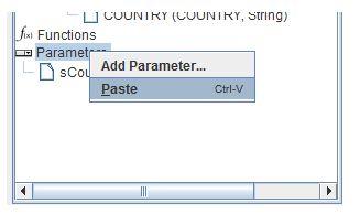 PRD cascading parameter 10