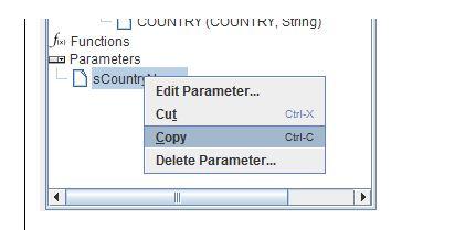 PRD cascading parameter 9