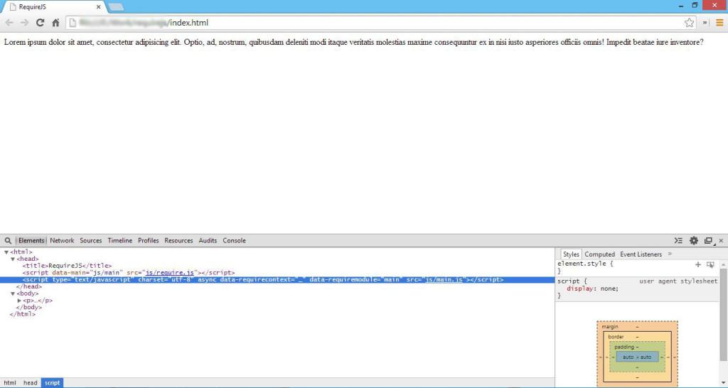 RequireJS Screenshot