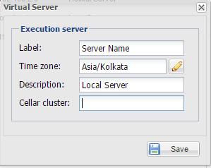 Add Virtual Server
