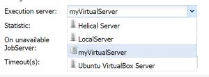 execution server list