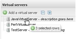 select job servers