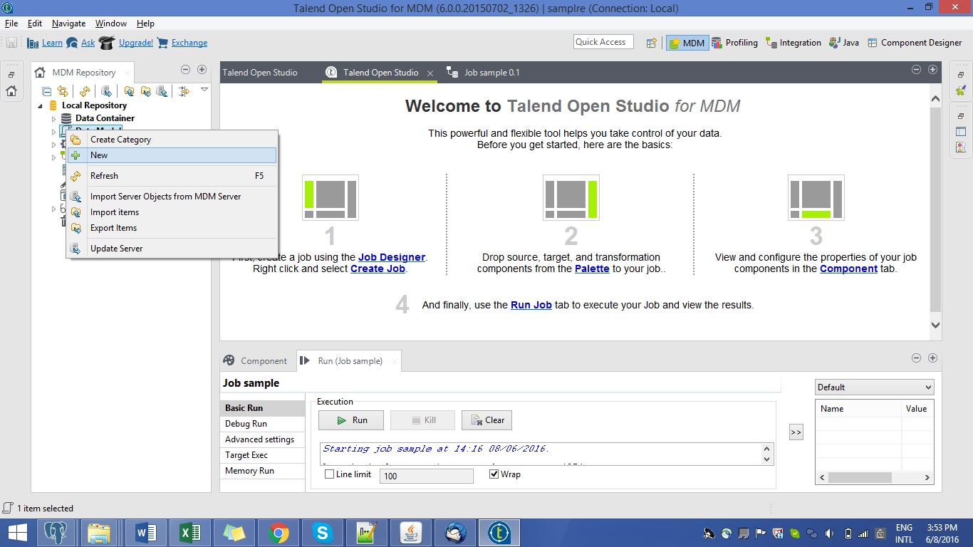 Work Flow of Talend MDM - Helical IT Solutions Pvt Ltd